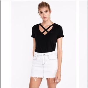 3/$29 Express X Front Strappy Tee